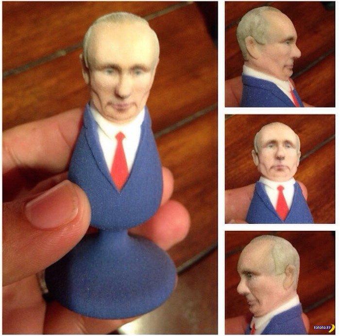 Неожиданное использование Путина
