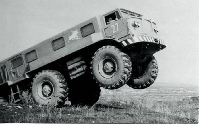 История одного прототипа: ЗИЛ-167
