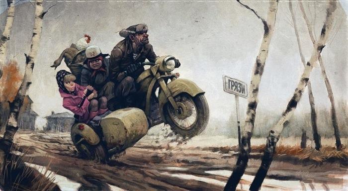 Рисует Вальдемар Казак