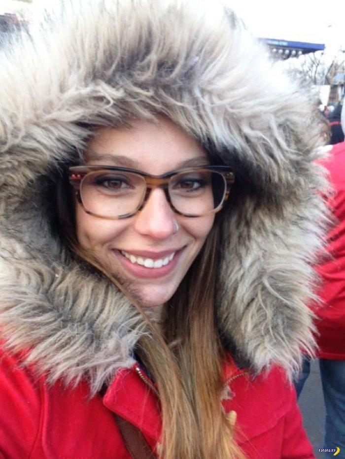 Красивые девушки в очках - 2