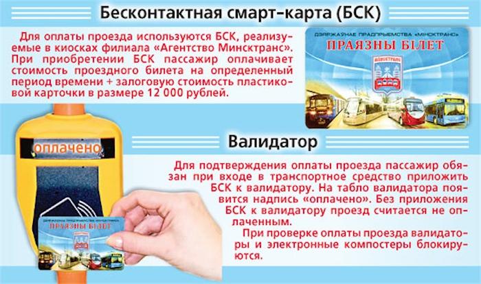 В Минске с 1 апреля исчезнут бумажные проездные