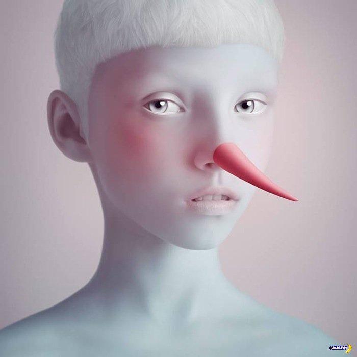 Рисует Олег Доу