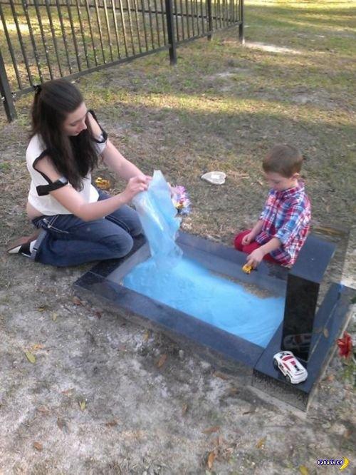 Песочница на могилке