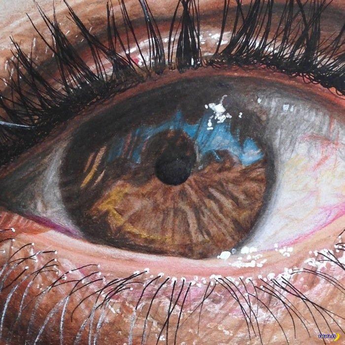 Глаза и гиперреализм