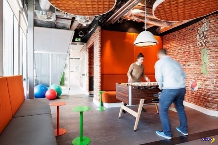 Новый офис Google в Амстердаме