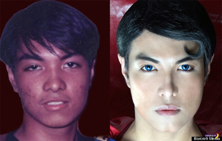 Филиппинская подделка Супермена