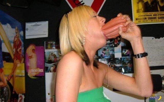 Девушки и большой рот