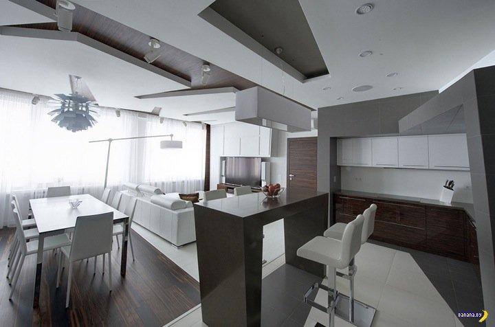 Белая квартира в Москве