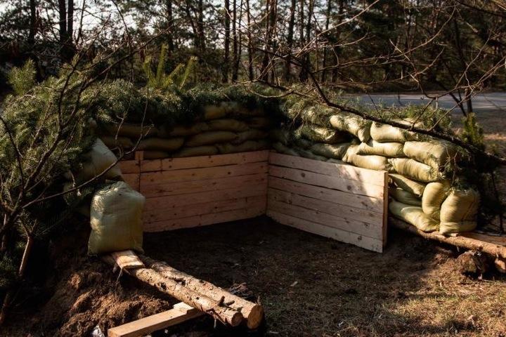 Украина окапывается у границ с Беларусью
