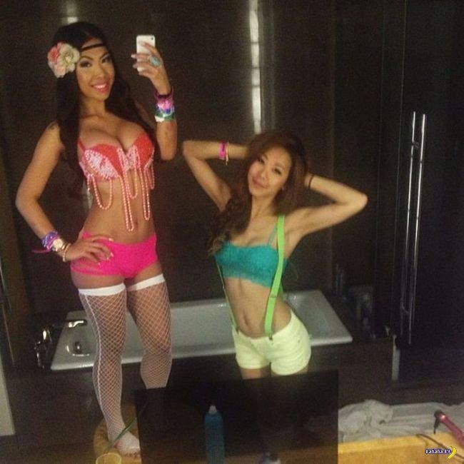 Девушки с  Ultra Music Festival