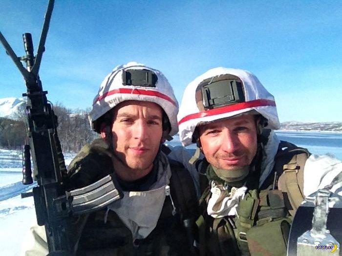 Солдатские selfies