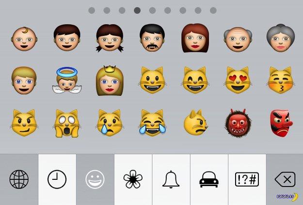 Apple обвинили в расизме за Emoji