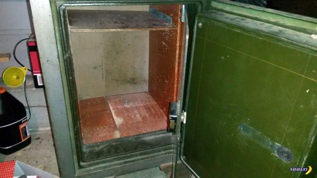 Тайна старого сейфа