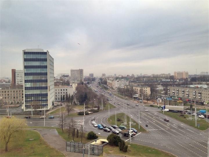 В Беларуси в понедельник обещают дождь и мокрый снег