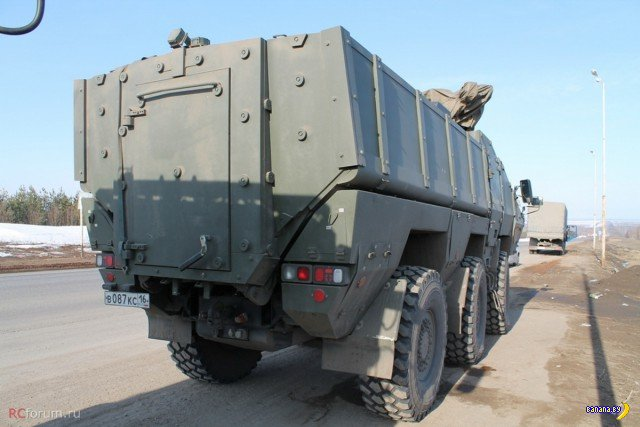 Российские бронеавтомобили Тайфун-К