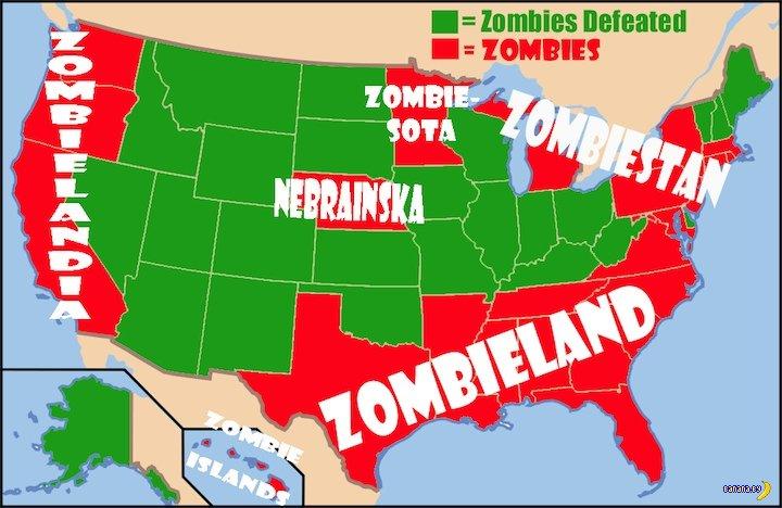 США и перспективы Зомбиленда