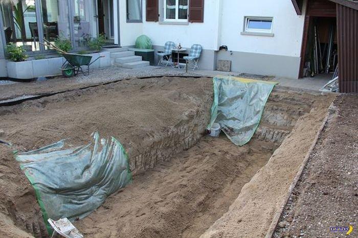 Переделка заднего дворика