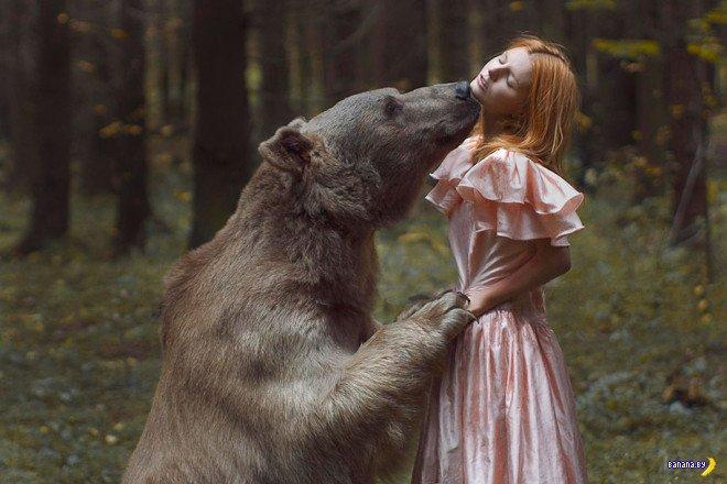 Сюрреалистичные фото с животными