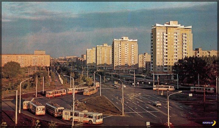 Ограничение движения троллейбусов по Партизанскому проспекту