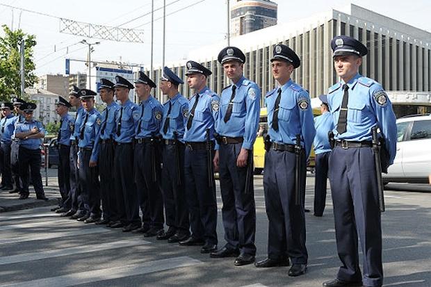 Еще одна полиция, теперь на Украине