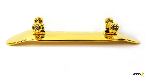 Вестник нищеброда.  Золотой скейтборд