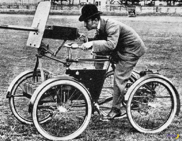 История велосипедов в армии