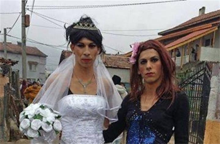 Свадьба цыган-геев в Болгарии привела к побоищу
