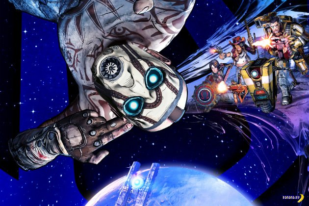 Borderlands: The Pre-Sequel - официально!