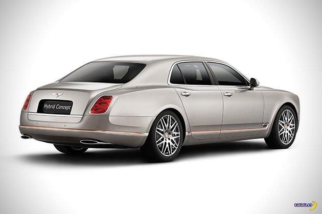 Bentley выпустит свой первый гибрид