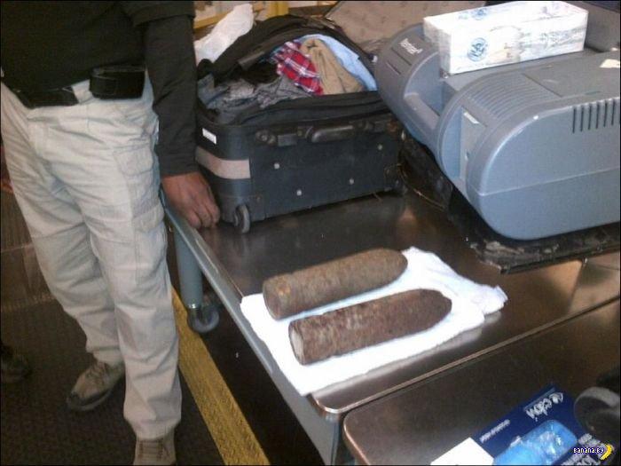 Два снаряда в багаже