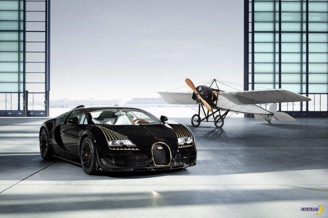 И еще Bugatti