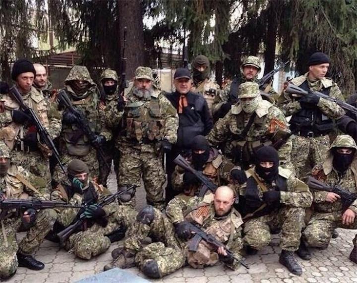 Восток Украины и Россия (опрос)
