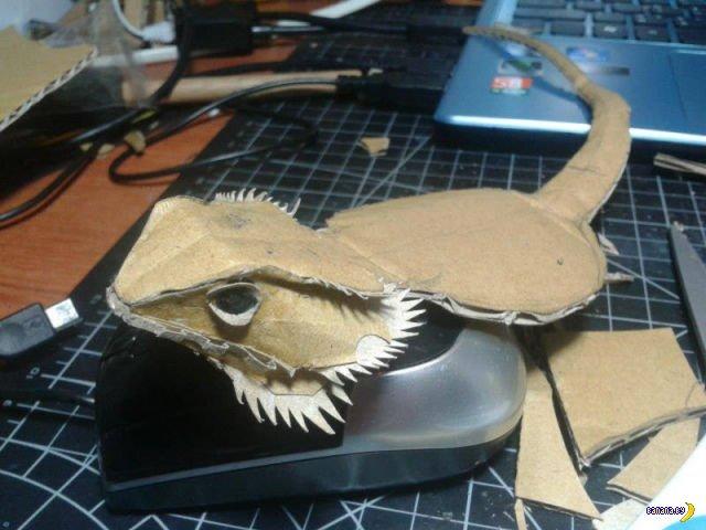 Что можно сделать из куска картона?