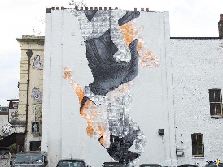 Стены в восточной части Лондона