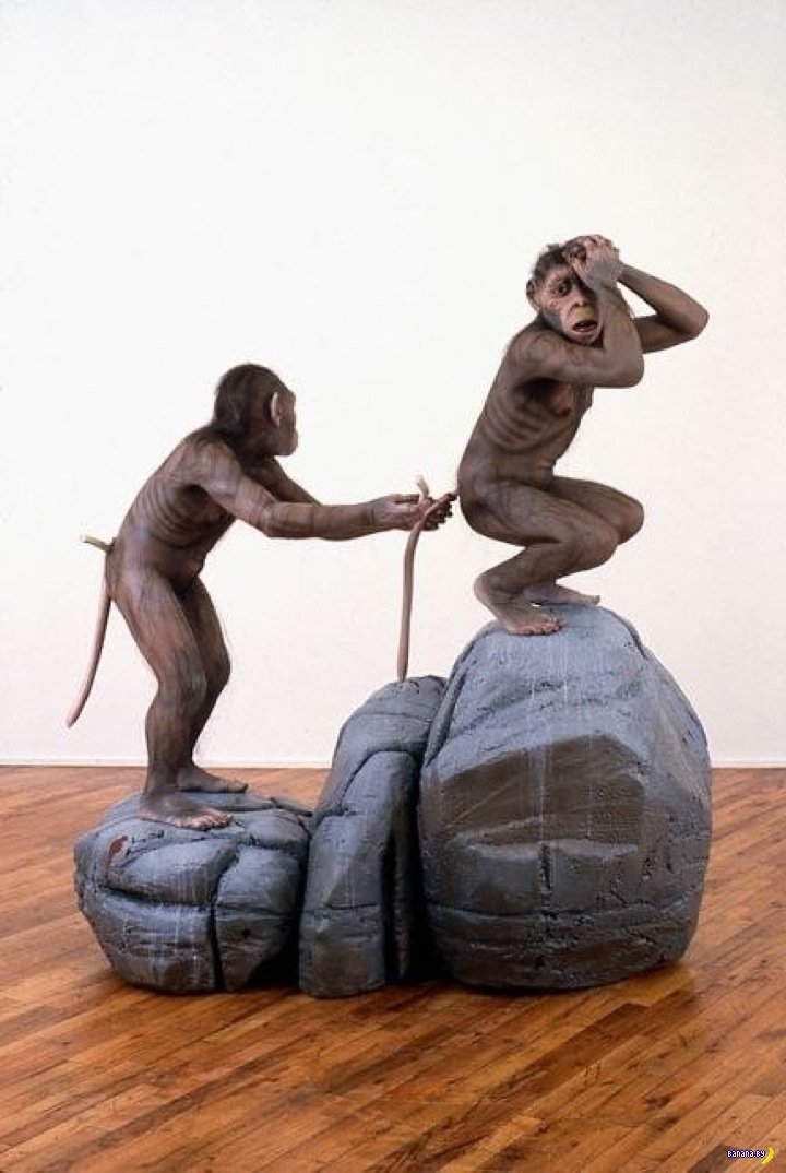 Скульптуры Тони Мателли