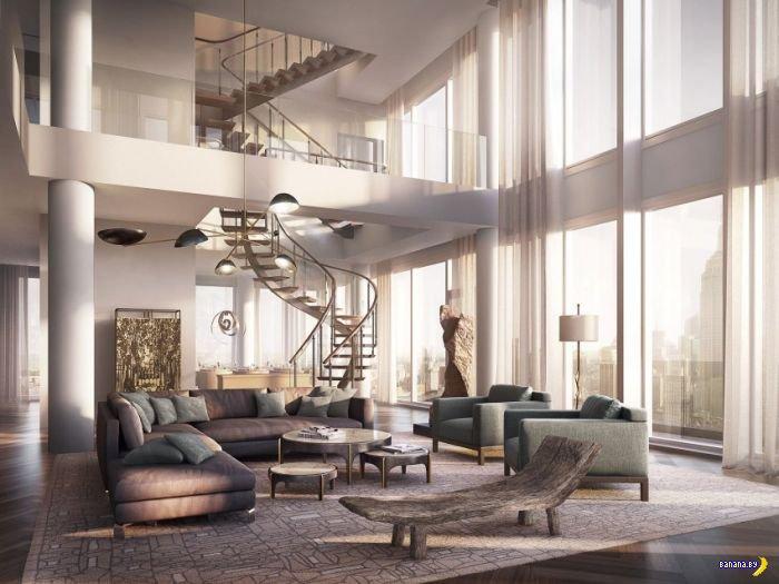 Пенсионерская квартирка за $57,000,000