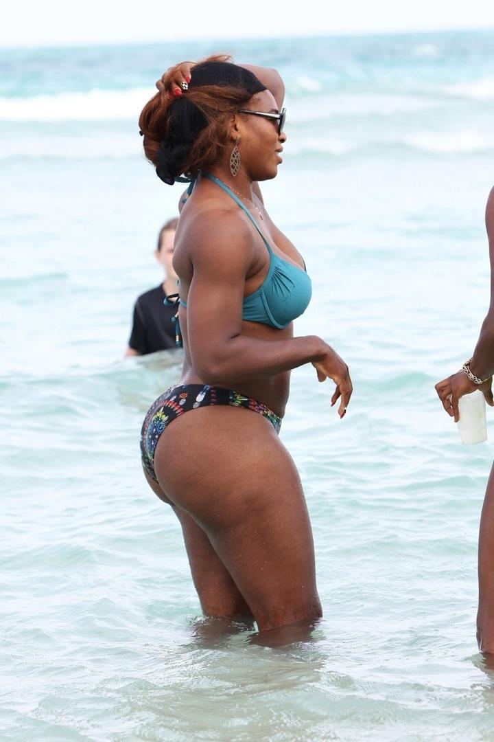 Серена Уильямс и её центр тяжести