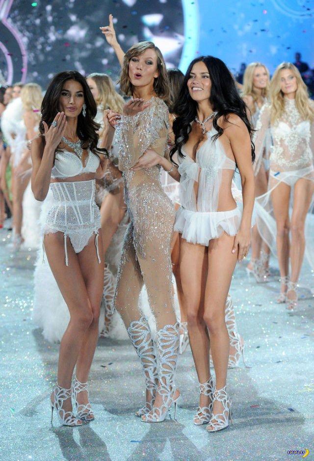 Показ Victoria's Secret в Лондоне