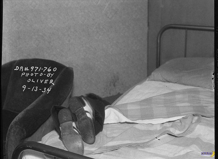 Редкие фото из архива полиции Лос Анджелеса