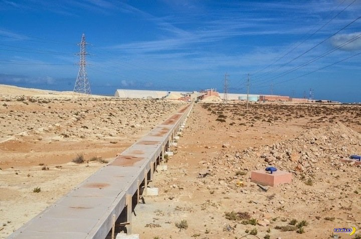 Самые длинные конвейерные ленты в мире