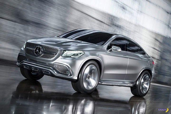Это не Х6, это Mercedes!