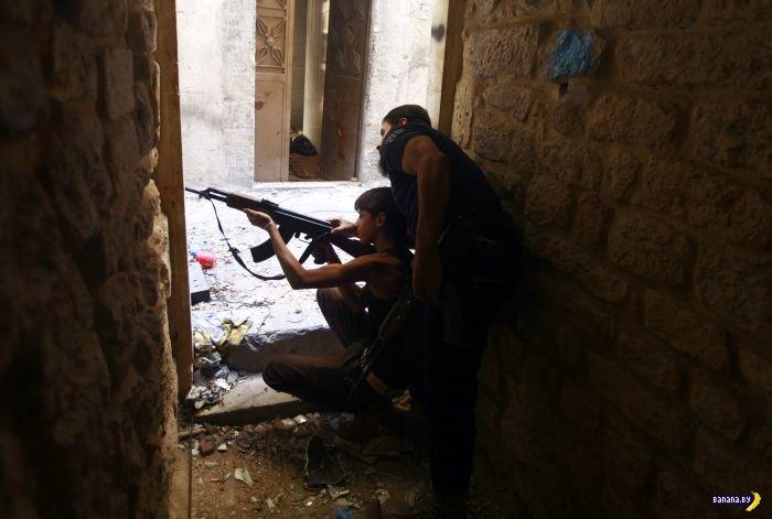 Фотографии из воюющей Сирии