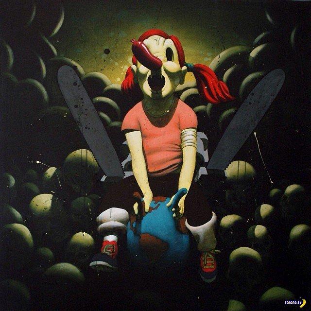 Рисует Виктор Кастилло