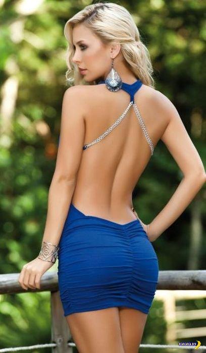 Красивые девушки в обтягивающих платьях - 9