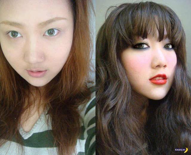 Изнанка азиатских красоток