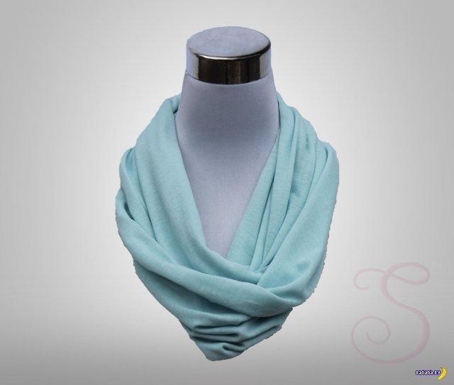 Женский шарфик для незаметного пьянства