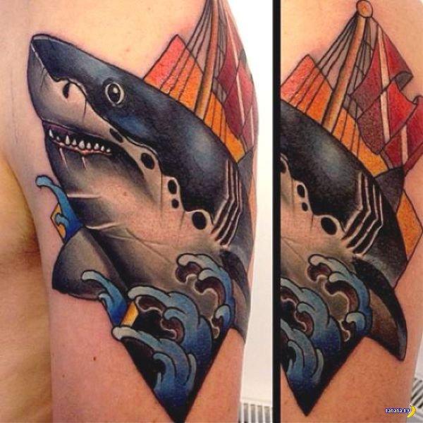 Татуировки на зависть