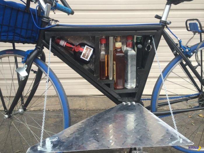 Ловкий тюнинг велосипеда