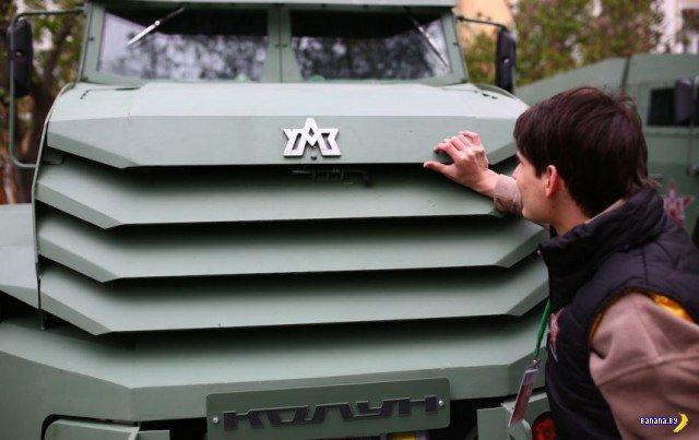 В России показали перспективные бронемашины
