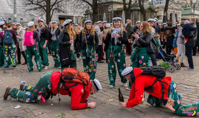Как веселятся финские студенты